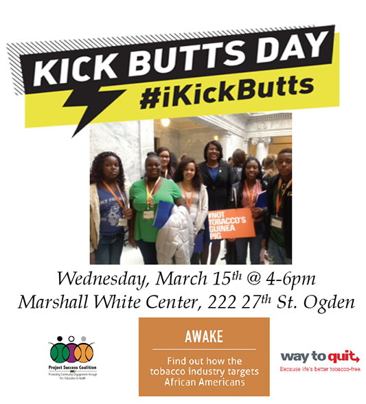 Kick Butts Day 2017